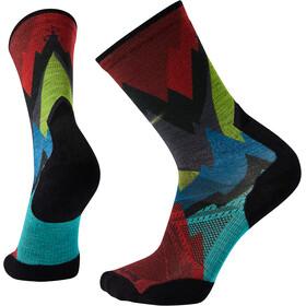 Smartwool Athlete Edition Run Mountain Print Crew Socks multi color